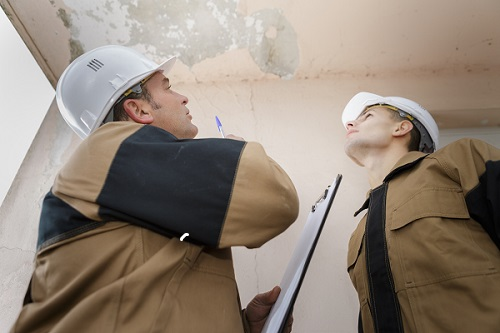 restoration contractors can inspect damage