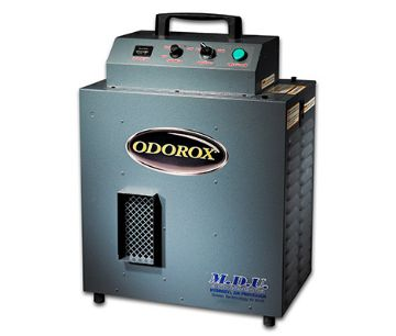 Odorox equipment eliminate odor and bacteria in homes